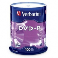 Verbatim DVD+R 100Stuks