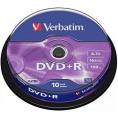 Verbatim DVD+R 10Stuks